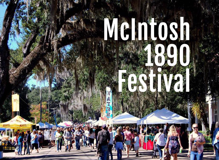 McIntosh 1890 Festival in Florida