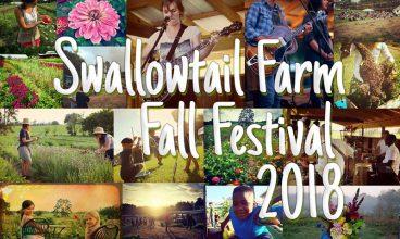 Swallowtail Farm Fall Festival 2018