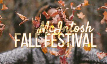 McIntosh 1890's Fall Festival 2019