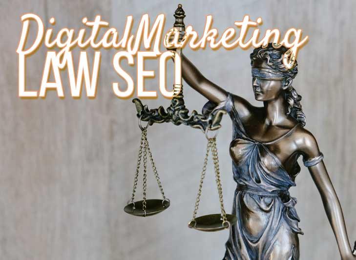 Law Seo - digital marketing - blind lady holding scale